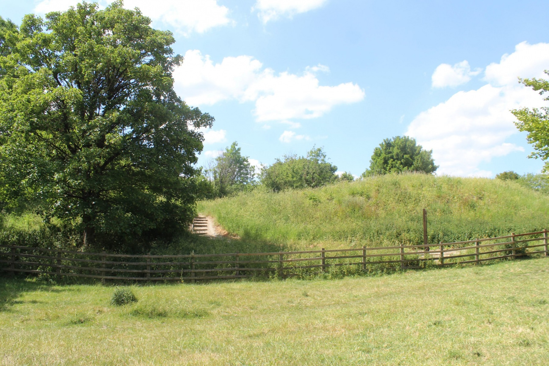 Motte and Bailey at Pirton